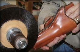 Polished Gunleather